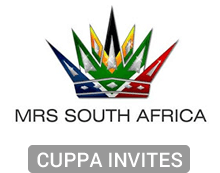 Mrs South Africa Cuppa Invites
